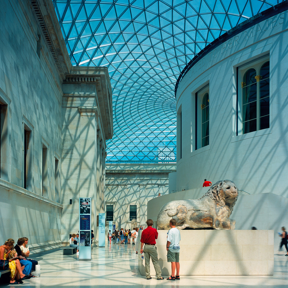 British Museum, architecture de Foster + Partners