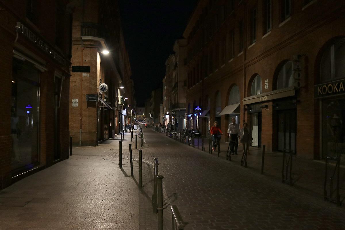 Éclairage public - Rue Saint-Antoine du T, Toulouse