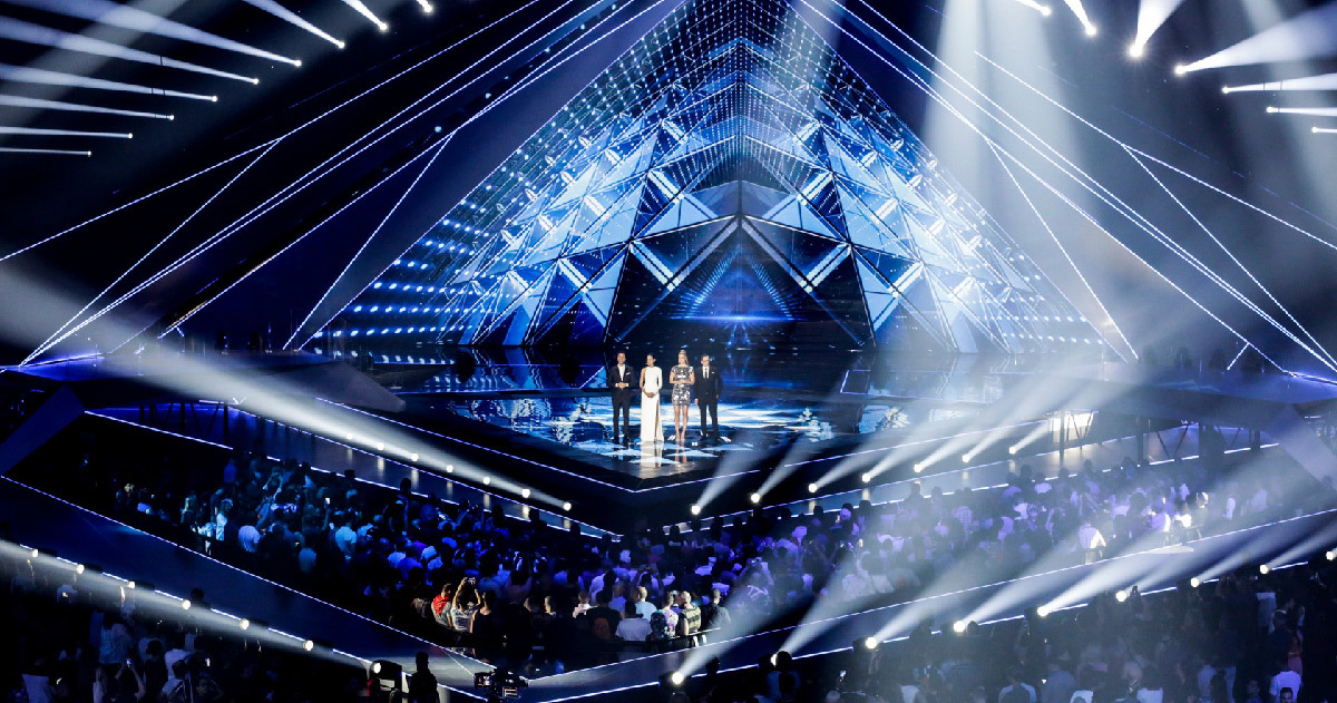 Calendrier Deg Orleans.Eurovision 2019 Backstage Lighting Behind The Stage