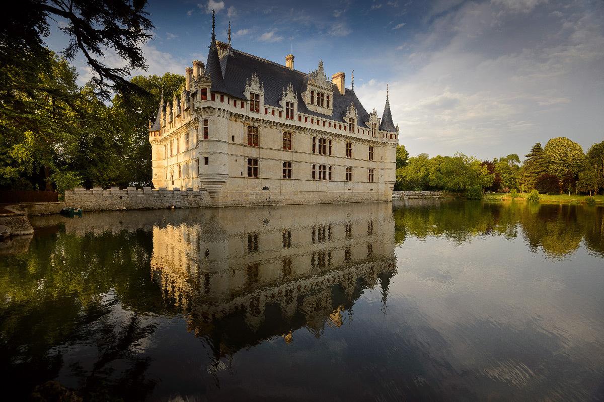 Château d'Azay-le-Rideau, France - façade Sud © Léonard de Serres - CMN