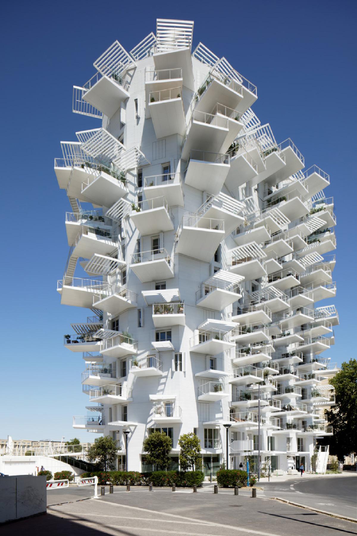 L'arbre blanc, Montpellier, France - Architectes : Sou Fujimoto, Nicolas Laisne, Manal Rachdi et Dimitri Roussel © Paul Maurer