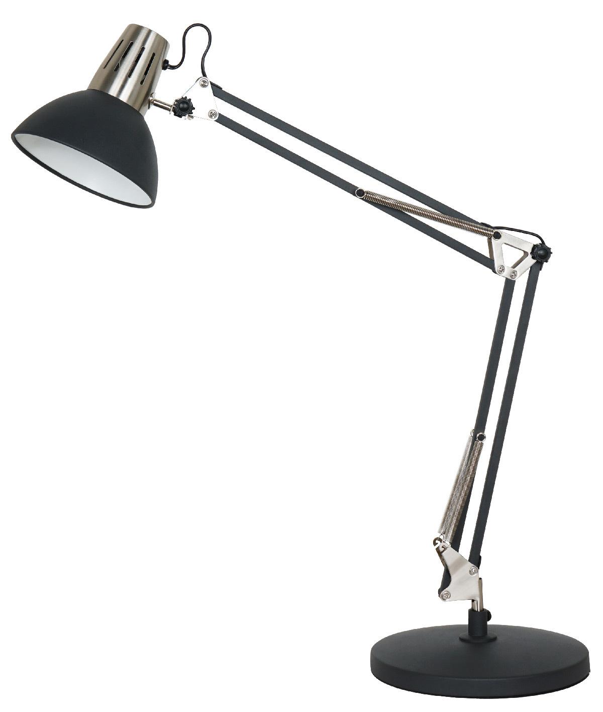 Calypsa noir, lampe de table © Aluminor