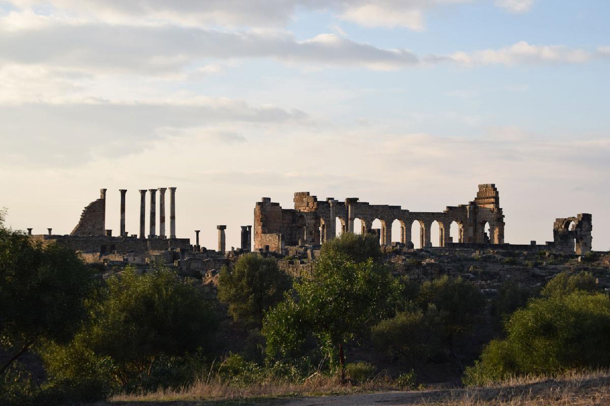 Site archéologique de Volubilis, Maroc © Doria l'exploratrice