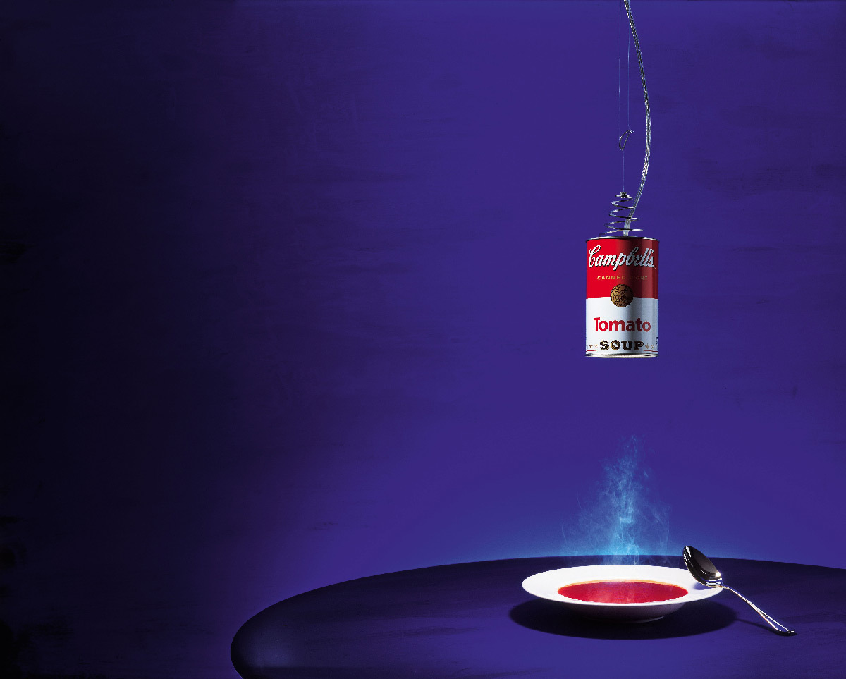 Canned Light suspension, 2003 - Designers : Christoph Matthias, Hagen Sczech © Ingo Maurer GmbH, Munich