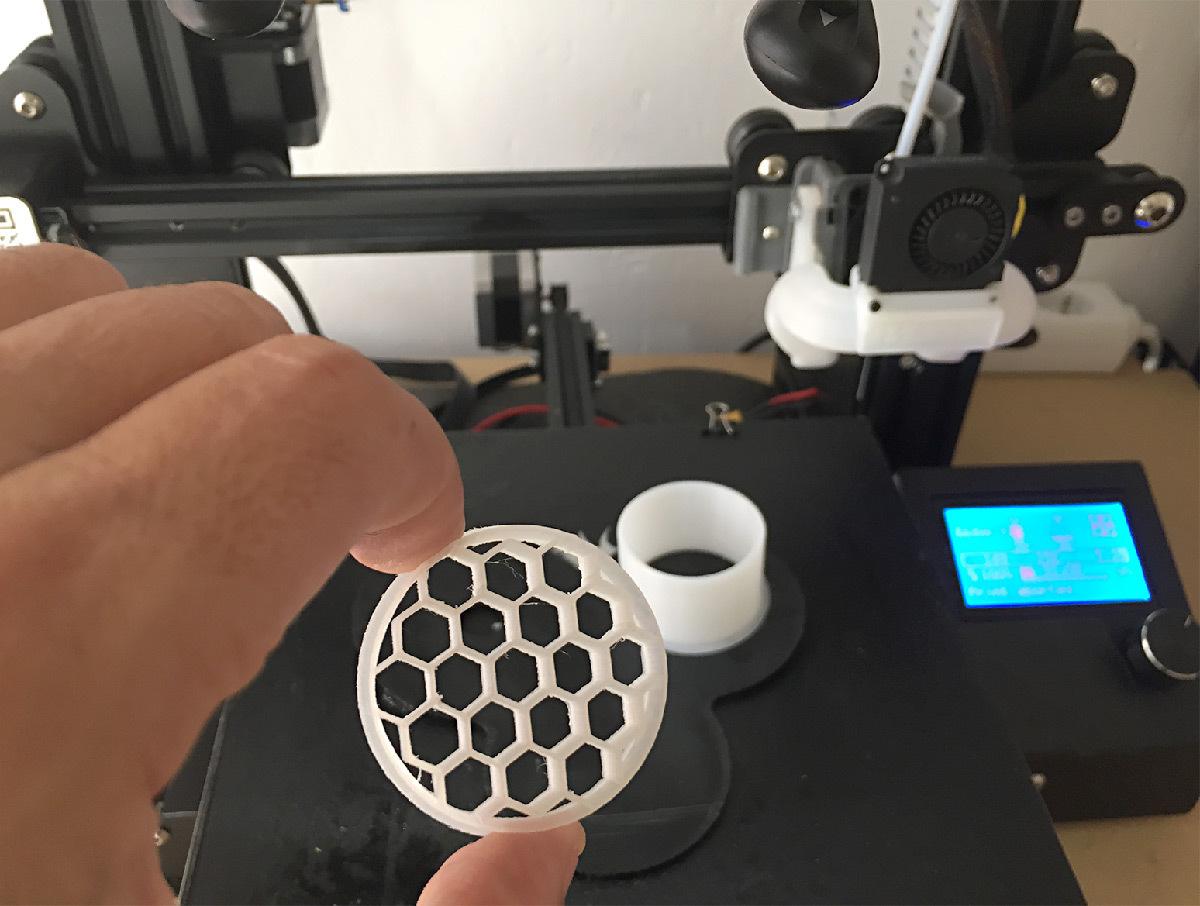 Récupérer votre objet 3D © Alexandre Junca - AJ-lightdesign