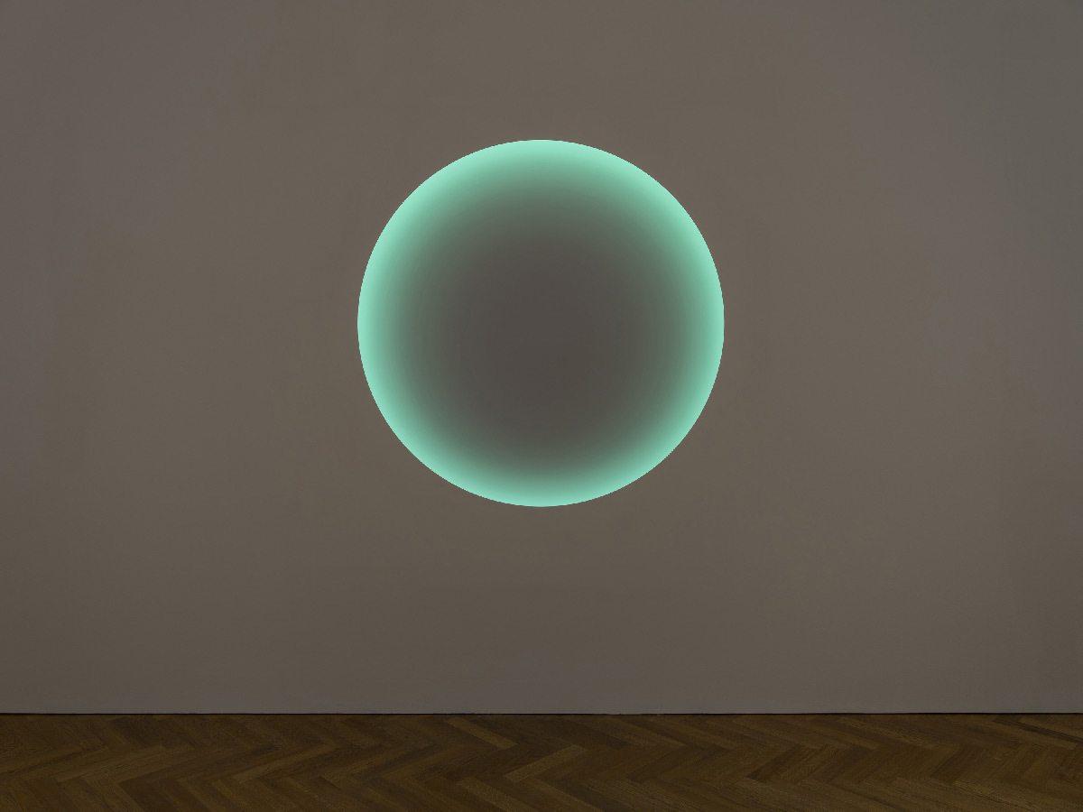 Aquarius, de James Turrell, Medium Circle Glass, 2019