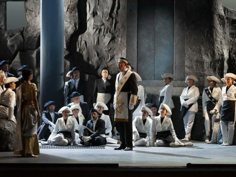 Flûte enchantée, opéra de Mozart, Marseille, 2019