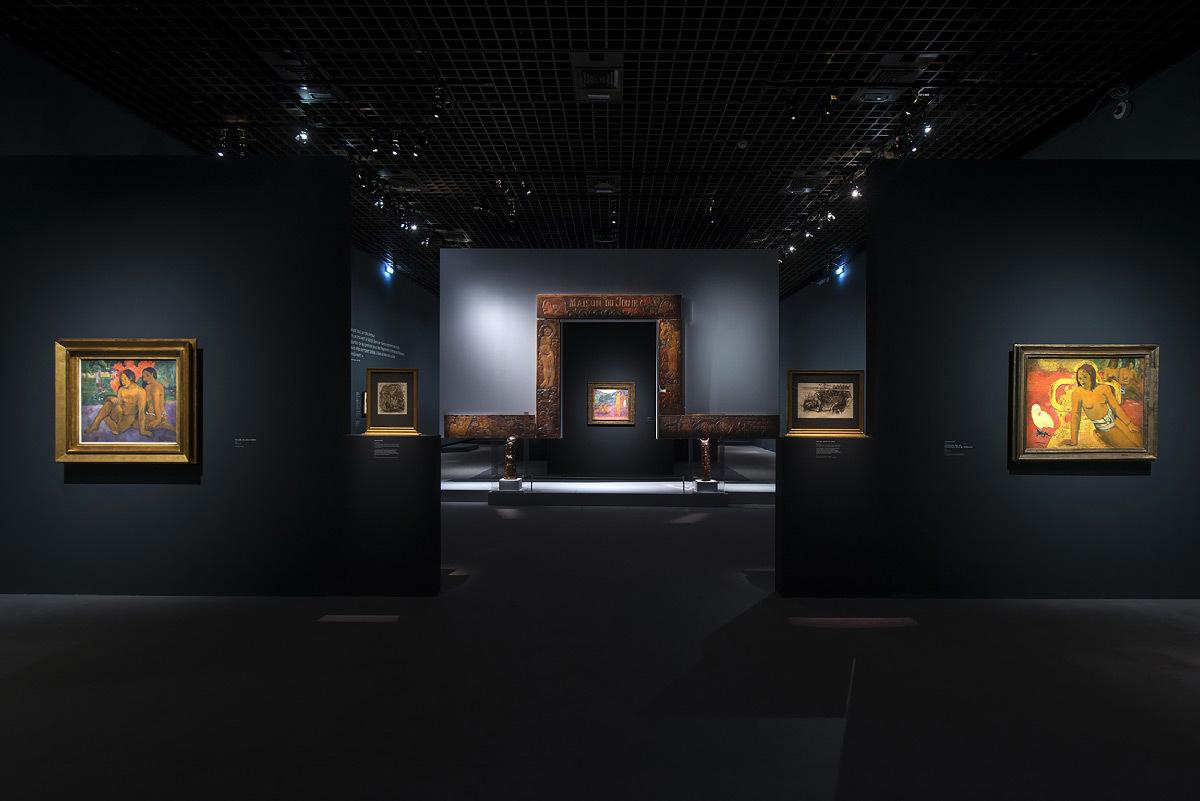 Gauguin l'alchimiste, Grand Palais, Paris - Conception lumière : Ponctuelle