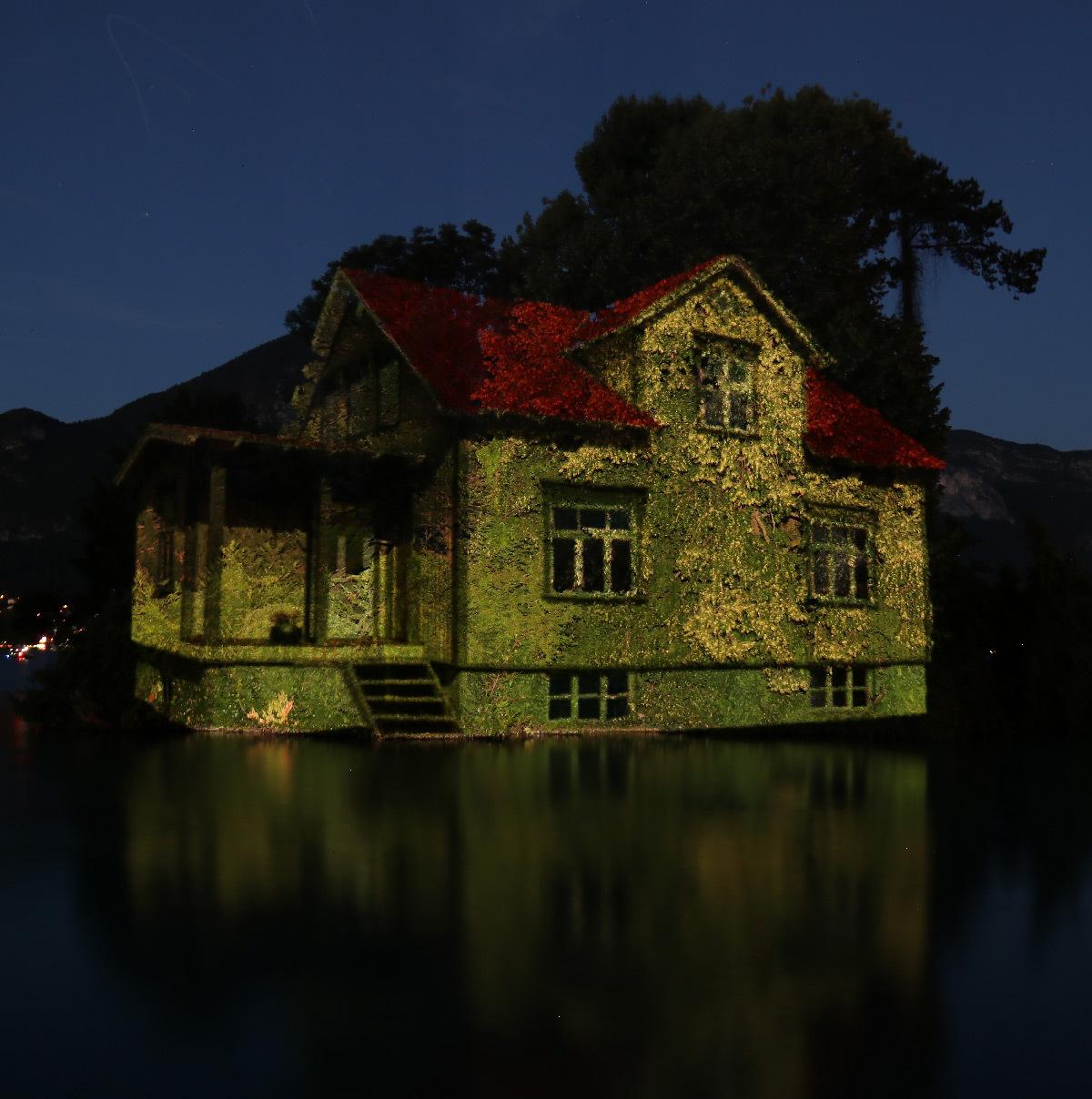 Lumières nocturnes de Annecy Paysages 2020