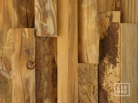 Antique Wall Cladding Reclaimed Wood Paneling Recycled 3D ...