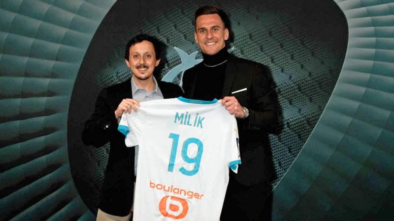 Marseille sign Milik from Napoli