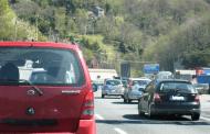 Frana sulla A1, oltre 9 chilometri di coda tra Valdarno e Firenze sud