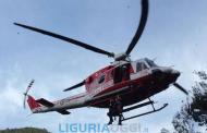 Rapallo, giovane scooterista cade in una scarpata: grave al San Martino