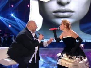 Grazia Di Michele e Mauro Coruzzi a Sanremo 2015