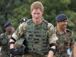 Principe Harry lascia l'esercito