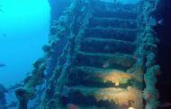 Haven, rete impigliata nel relitto: stop alle immersioni