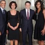 renzi obama moglie