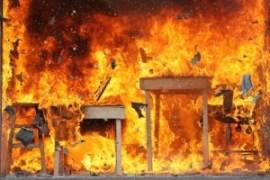 L'immagine di un incendio