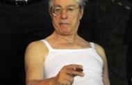 Umberto Bossi - Incidente a Montecitorio: cade e si rompe il polso