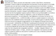 Elena Donazzan derubata a Sanremo, polemiche per il post su Facebook