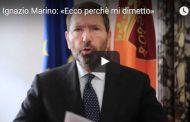 Roma, Ignazio Marino si dimette ma avverte: