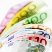 I diversi tagli delle banconote della zona Euro