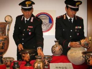 I carabinieri del reparto tutela patrimonio culturale