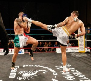 Un combattimento dell'International Fights Show
