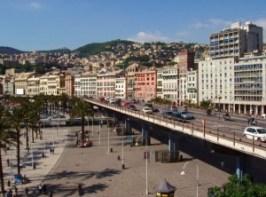 Nella foto, la Sopraelevata di Genova