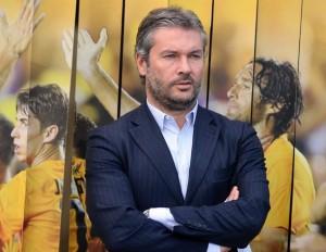 Nella foto, Sean Sogliano ai tempi dell'Hellas Verona