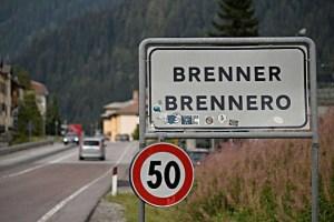 Brennero, nessuna barriera tra Austria e Italia