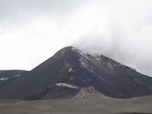 Il cratere dell'Etna