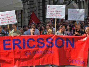 lavoratori Ericsson
