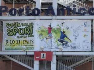 Rubate medaglie e foto dagli stand di Stelle Nello Sport al Porto Antico