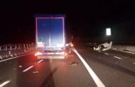 Auto contromano sull'Autostrada A10 subito dopo Voltri, 4 feriti