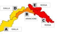 Allerta meteo Liguria, diventerà rossa sullo spezzino dalla mezzanotte