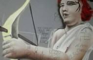 Molassana, scritte nazifasciste sulla sede del Teatro dell'Ortica