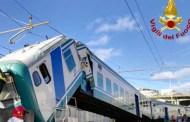Brignole - Treno fa manovra e finisce contro il binario tronco