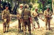 Soldati americani e atmosfere anni 40 alla Vetta di Pegli