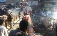 Kenya - Incendio in un mercato di Nairobi, almeno 15 morti