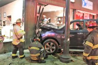 Inwood man arrested for DWI after crashing into Rustic