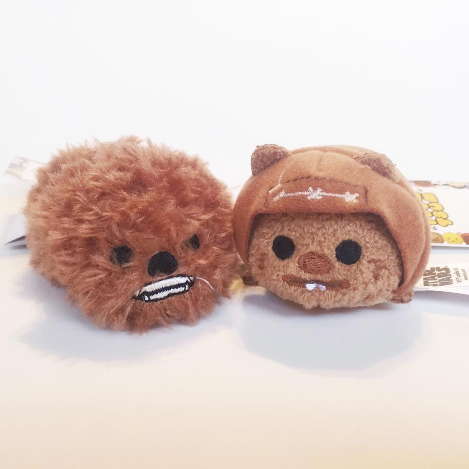 Chewie and Wicket TsumTsums!