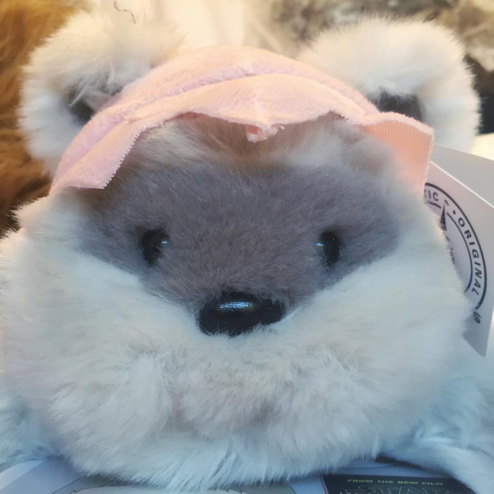 Princess Kneesa the Ewok plush