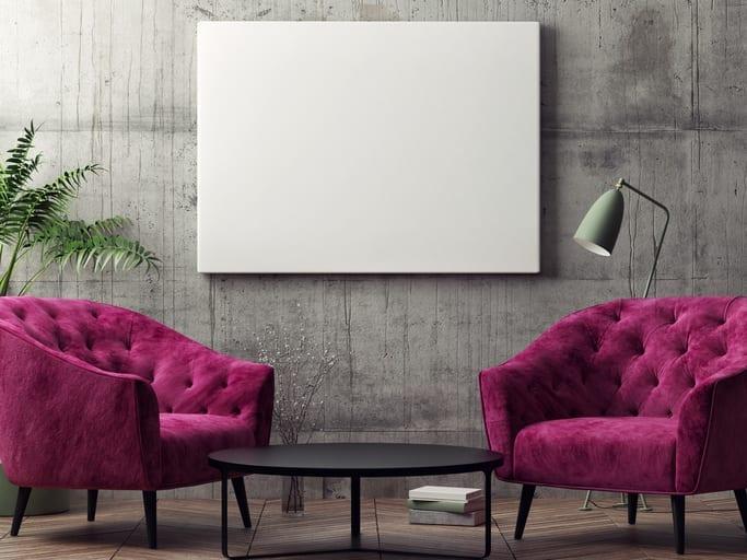 Posa senza sopralluogo la pittura per interni! Pitture Moderne Dai Un Tocco Sorprendente Alle Pareti Della Tua Casa