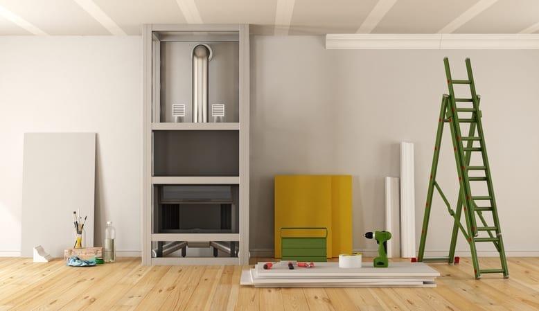 parete attrezzata, porta tv, libreria: Parete Attrezzata In Cartongesso Vantaggi Svantaggi E Costi