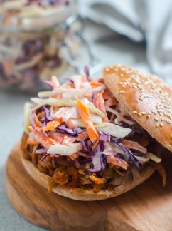 pulled pork and cole slaw (3)
