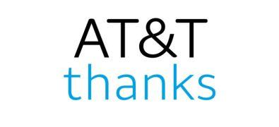 ATT thanks