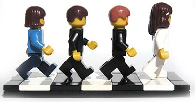 Beatles in Lego