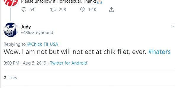 Parody Chik-fil-A Twitter