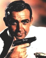 Sean Connery with Walther